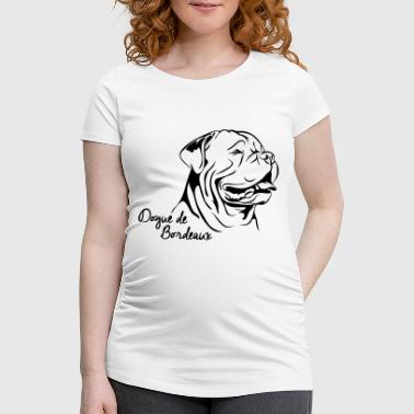 Dessin Dogue De Bordeaux DOGUE PORTRAIT DE BORDEAUX - T-shirt de grossesse Femme