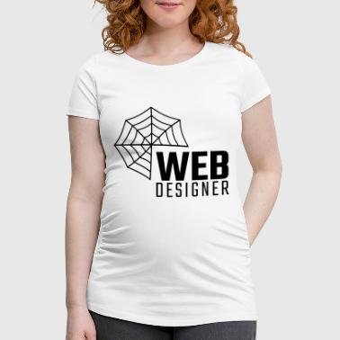 Web designer - Women's Pregnancy T-Shirt