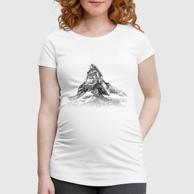 Zermatt Around The World: Matterhorn - Zermatt - Women's Pregnancy T-Shirt