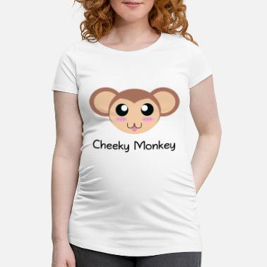 Cheeky Monkey Cheeky Monkey - Women's Pregnancy T-Shirt