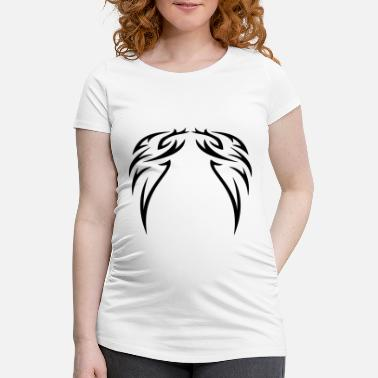 Wing tattoo wings - Maternity T-Shirt