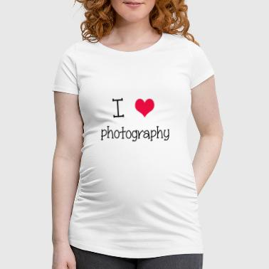 I love photography - Camiseta premamá