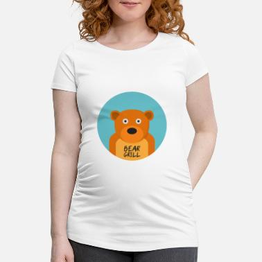 Officialbrands Bear Grill T-shirt - Gravid T-shirt