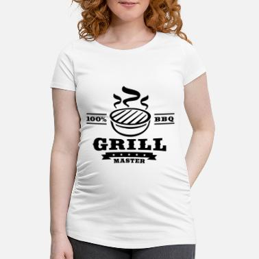 Meat 100pro_grillmaster_f1 - Maternity T-Shirt