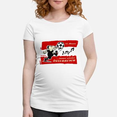 Best Football Team4 - Schwangerschafts-T-Shirt