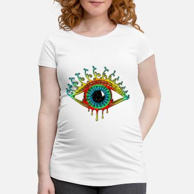 Symbol Sun Eye - Symbol Protection & Mental Strength - Maternity T-Shirt