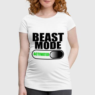 beast mode - Women's Pregnancy T-Shirt