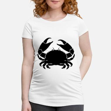 Crabe crabe cancer1 - T-shirt de grossesse