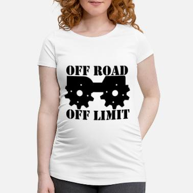 Off Off Road Off Limit - T-shirt de grossesse