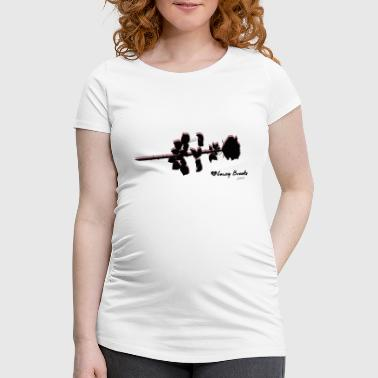 Roses and Roses - Women's Pregnancy T-Shirt