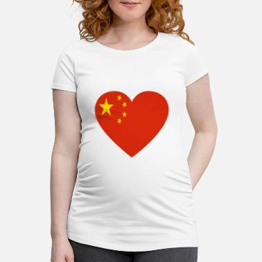Love China Love love gift china - Women's Pregnancy T-Shirt