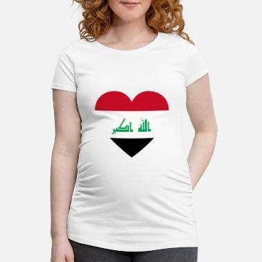 Irak Love love gift irak iraq - Maternity T-Shirt