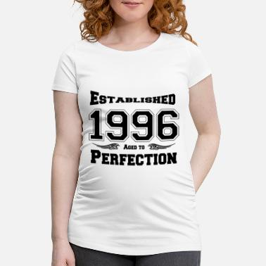 Established 1996 Established - Schwangerschafts-T-Shirt