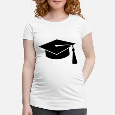 University graduation hat v2 - Maternity T-Shirt