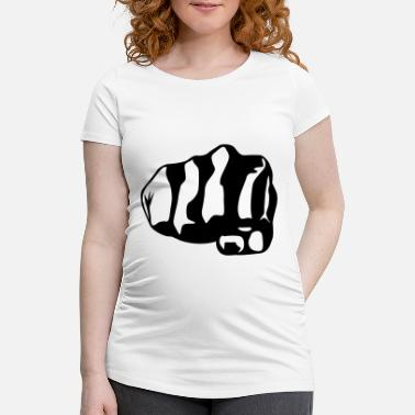 Fist Fist - Maternity T-Shirt