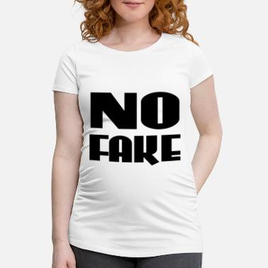 Fake No Fake - T-shirt de grossesse