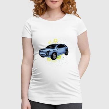 Ugly small car - Women's Pregnancy T-Shirt