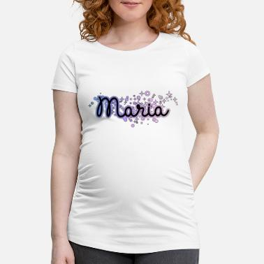 First Name Maria name first name - Maternity T-Shirt