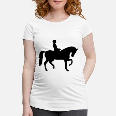 Dressage Dressage - Maternity T-Shirt