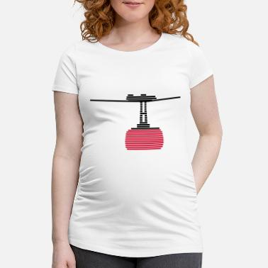 Cable Car cable car - Maternity T-Shirt