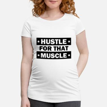Muscle muscles - Maternity T-Shirt