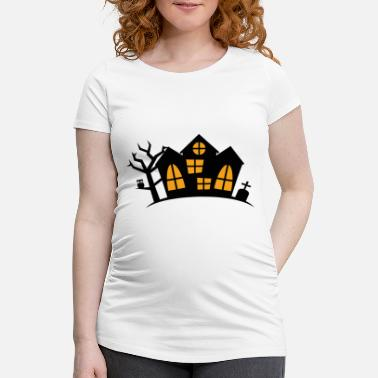 Haunted House Haunted House - Maternity T-Shirt
