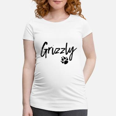 Grizzly Grizzly - Gravid-T-shirt dam