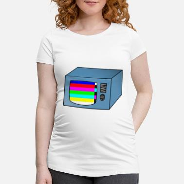 Tv TV TV TV with error - Maternity T-Shirt