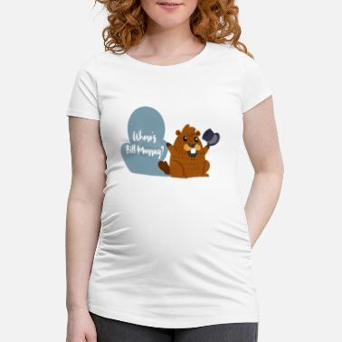 Murray Rolig Murray Marmot T-shirt Ferie gave - Vente-T-shirt