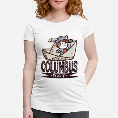 World Columbus Day America Discovery Adventure Gift - Maternity T-Shirt