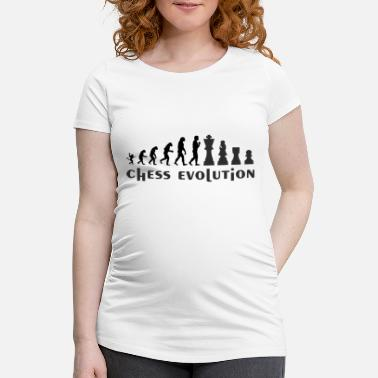 Chess chess evolution2 - Maternity T-Shirt