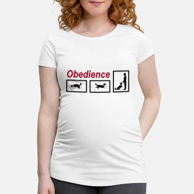 Obedience Obedience - Maternity T-Shirt