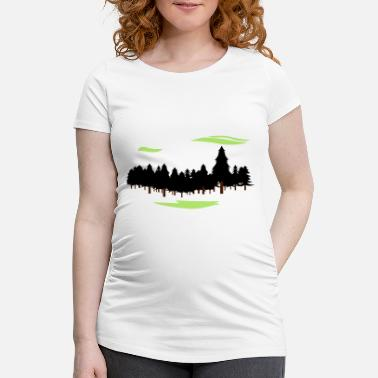Forest Forest Forest - Maternity T-Shirt