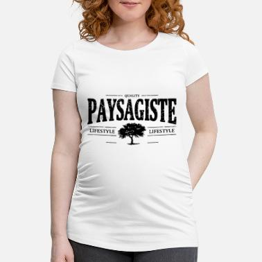 Landscaping landscape - Women's Pregnancy T-Shirt