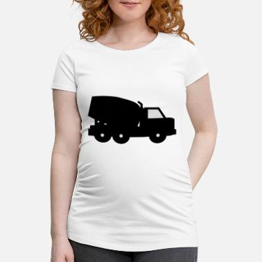 Mixer cement mixer - Maternity T-Shirt