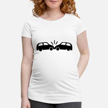 Car Crash - Schwangerschafts-T-Shirt