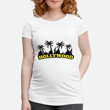 Hollywood hollywood - Schwangerschafts-T-Shirt
