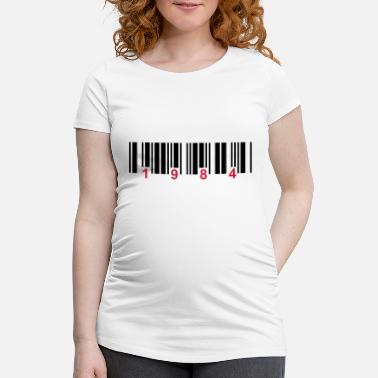 Number barcode 1984 - Maternity T-Shirt