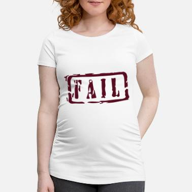 Writing fail writing - T-shirt de grossesse