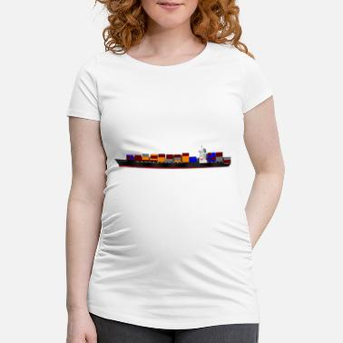 Container Container Ship - Women's Pregnancy T-Shirt