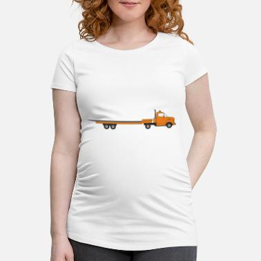 Transport transporteur - T-shirt de grossesse
