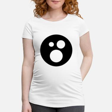 Emoticon Emoticons - Schwangerschafts-T-Shirt