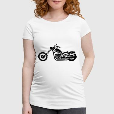 motorbike - Women's Pregnancy T-Shirt