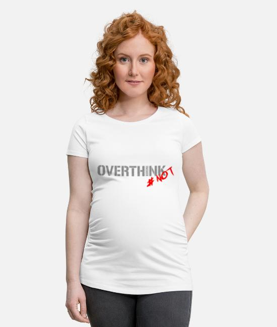 Blackjack T-Shirts - W Collection 17-18 - Maternity T-Shirt white