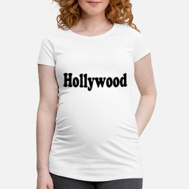 Hollywood hollywood - Gravid T-skjorte