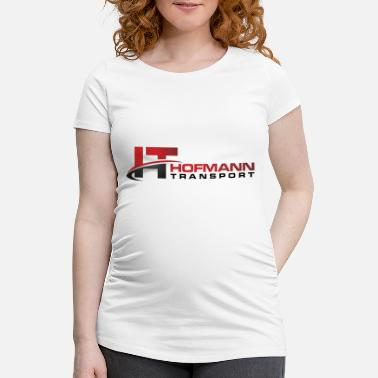 Transport Hofmann Transport - Schwangerschafts-T-Shirt