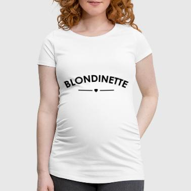 blonde - Women's Pregnancy T-Shirt