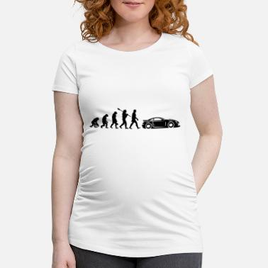 Darwin Evolution Sports Car - Maternity T-Shirt