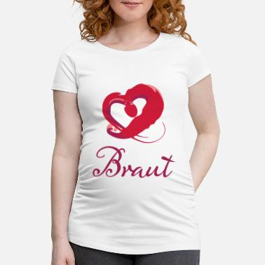 Heart Bride - Maternity T-Shirt