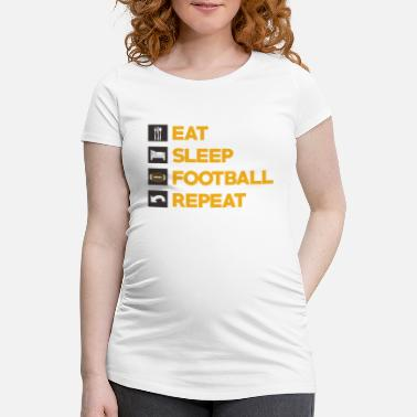 912c17a9 Supporter American Football American Football Player Footballer Team Gift -  Maternity T-Shirt